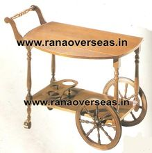 Wooden Serving carts for Food