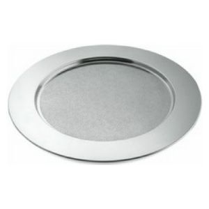 Stainless Steel Round Charger Tray