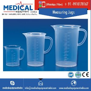 Clear Plastic Measuring Jugs