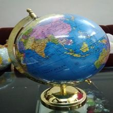 Plastic World Globe for Decoration