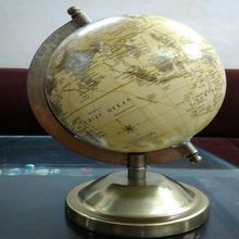 World Globe with Metal Stand