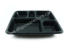 Disposable compartmental plastic plates