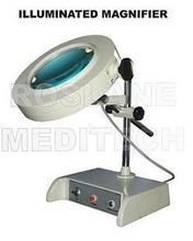 Magnifier with Halogen Lamp