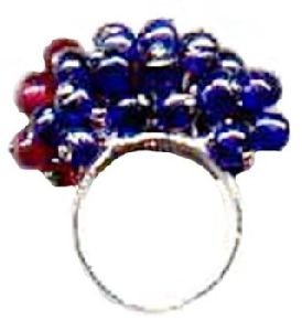 Colorful Glass Beaded Ring