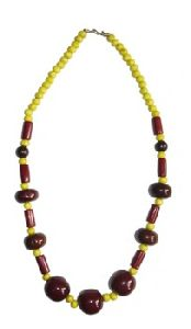 Resin Beaded Necklace