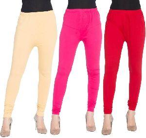 Ladies Plain Leggings 01
