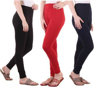 Ladies Plain Leggings 03