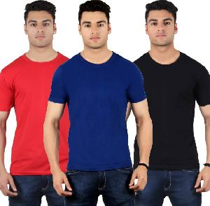 Mens Round Neck T-Shirts 01