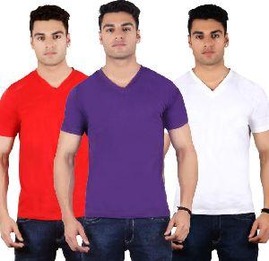 Mens V Neck T-Shirts 02