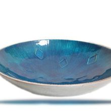 heavy weight enamel aluminium bowl