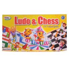 Laminated Cardboard Ludo and Chess Board