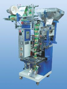 Semi Pneumatic Form Fill & Seal Machine With Volumetric Cup Filler