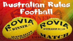 Australian Rules Football Match Balls