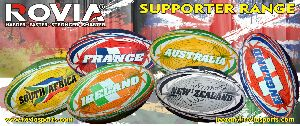 Supporter Rugby balls Flags Rugby balls
