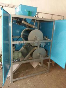 Double Drum Magnetic Separator
