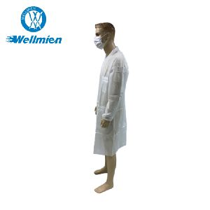 Disposable Medical White Doctor Lab Coat