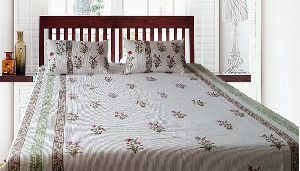 Hand Block Bed Cover