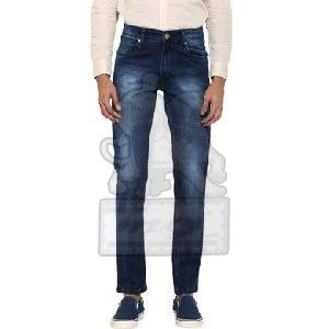 Mens Cotton Narrow Fit Jeans
