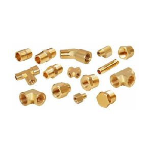 Anti Corrosive Brass Pipe Fitting Parts