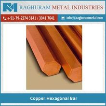 Copper Hexagonal Bar
