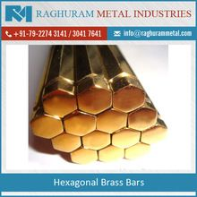 Hexagonal Brass Bar