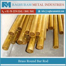 round brass bar