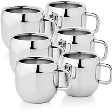 Stainless Steel Self Stirring Coffee Cup