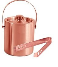 Stainless Steel T shape bear wine bottle copper ice Bucket with handle