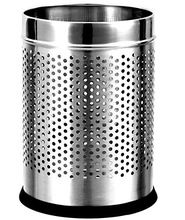 Stainless Steel Touchless Waste Bin with Foot Pedal