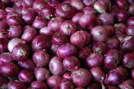 Red/Pink colour fresh onion