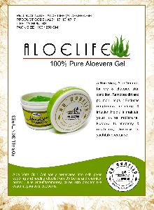 100% Pure Aloevera Gel