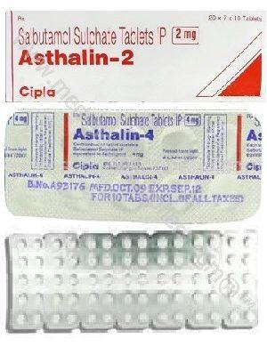 Albutarol (Salbutamol) 2MG, 4MG, 8MG Tab (Ventolin)