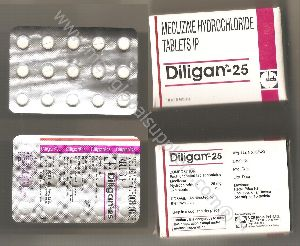 Meclizine 25MG, 50MG (Antivert, Bonine, Dramanine)