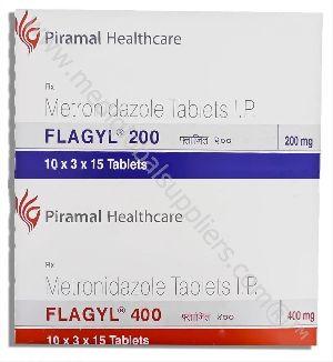 Metronidazole 200MG & 400MG (Flagyl)