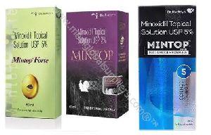 Minoxidil 2%, 5% 10% Forte Soltion (Rogain, Mintop)