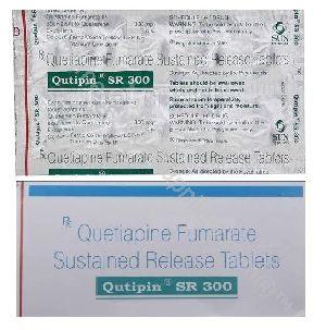 Quetiapine SR 100MG, 200MG, 300MG (Seroquel XR)