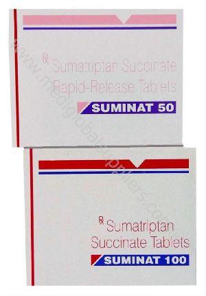 Sumatriptan 25MG, 50MG, 100MG (Imitrex)