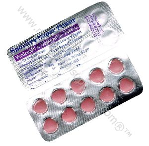 Vardenafil 20MG + Dapoxetine 60MG (Snovitra Super Power)