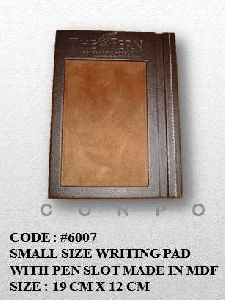 Writing Notepad With Pen slot