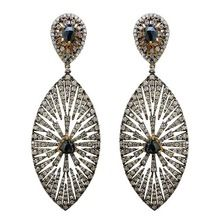 Marquise Gold Earrings