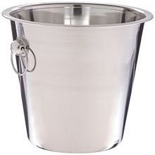LARGE STAINLESS STEEL ICE BUCKET