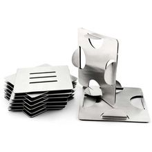 Stainless Steel Square Metal Drink Coaster