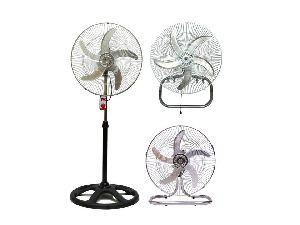 360 Degree Metal Grill Pedestal Fan