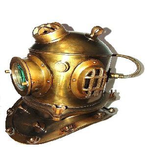 Collectible Steampunk Diving Helmet