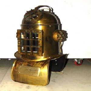 Vintage Steampunk iron Diving Helmet Reproduction