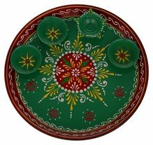 handcrafted decorative plates