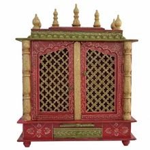 Handmade Wooden Carved Temple