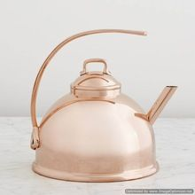 copper shiny kettle