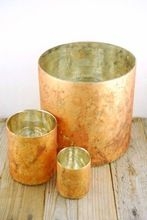 Copper Candle Holder Cup Tumbler