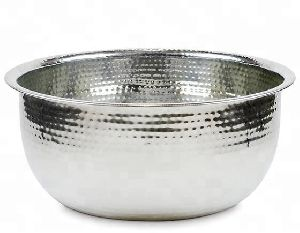 Stainless Steel Bowl Hand